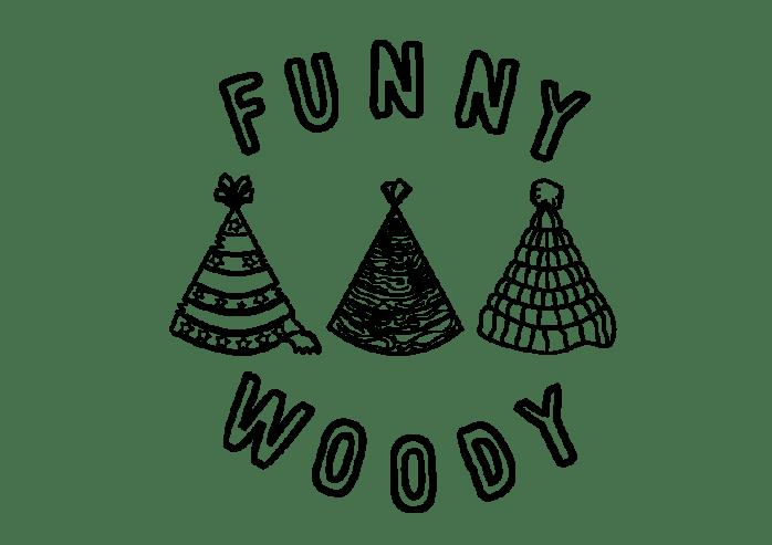 FunnyWoody - Logo - Transparent